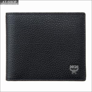 エムシーエム MCM 二つ折り財布 MXS8SOT05BK001 BLACK at-shop