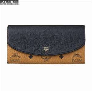 エムシーエム MCM 財布サイフ 二つ折り長財布 MYL8SVI13BK001 BLACK|at-shop