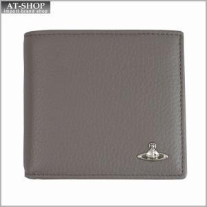 Vivienne Westwood ヴィヴィアン・ウェストウッド 財布サイフ MILANO 二つ折り財布 33.311 GREY グレー|at-shop
