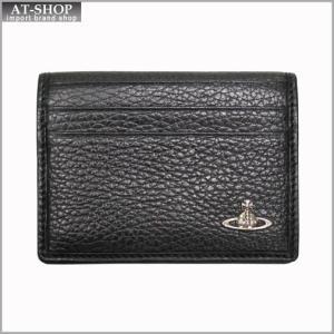 Vivienne Westwood ヴィヴィアン・ウェストウッド カードケース NO,8 MILANO 33.361 BLACK 17SS ブラック|at-shop