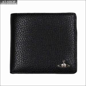 Vivienne Westwood ヴィヴィアン・ウェストウッド 財布サイフ NO,10 MILANO 二つ折り財布 51010016 BLACK 18SS ブラック|at-shop