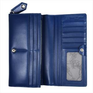 Vivienne Westwood ヴィヴィアン・ウェストウッド 財布サイフ NO,10 NAPPA 二つ折り長財布 51060025 BLUE 18SS ブルー at-shop 03