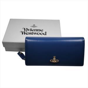 Vivienne Westwood ヴィヴィアン・ウェストウッド 財布サイフ NO,10 NAPPA 二つ折り長財布 51060025 BLUE 18SS ブルー at-shop 07