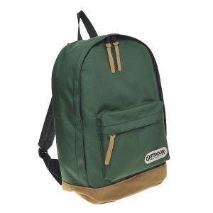 アウトドアバッグ OUTDOOR リュック クラシック デイバック メンズ/レディース デイパック 12409043-GREEN グリーン|at-shop