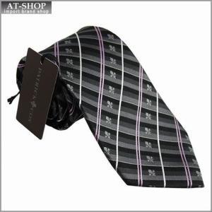PATRICK COX パトリックコックス ネクタイ 約8.5cm ストライプ柄 グレー系 PC-004-GRAY at-shop