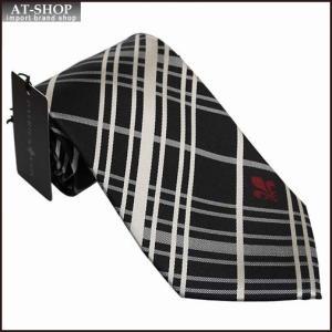 PATRICK COX パトリックコックス ネクタイ 約9.5cm チェック柄 ブラック系 PC-014-BLACK|at-shop