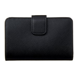 PRADA プラダ 財布サイフ サフィアーノ 二つ折り財布 ブラック 1ML225 QHH F0002 NERO|at-shop|02