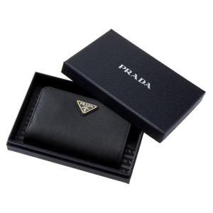 PRADA プラダ 財布サイフ サフィアーノ 二つ折り財布 ブラック 1ML225 QHH F0002 NERO|at-shop|04