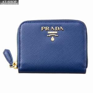 PRADA プラダ 財布サイフ コインケース 1MM268 QWA F0016 BLUTTE|at-shop
