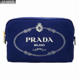 PRADA プラダ ポーチ 1NA021 20L F0CTL ブルー|at-shop