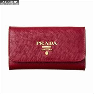 PRADA プラダ キーケース 1PG222 QWA F068Z FUOCO|at-shop