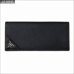 PRADA プラダ 財布サイフ 二つ折り長財布 2MV836 QME F0002|at-shop