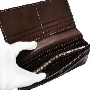 POLICE ポリス 財布サイフ ボルドゥーラ 二つ折り長財布 PLC132 BROWN|at-shop|05