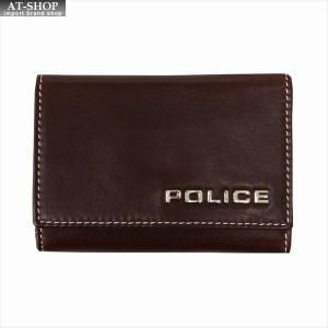 POLICE ポリス キーケース ボルドゥーラ PLC134 BROWN|at-shop
