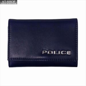 POLICE ポリス キーケース ボルドゥーラ PLC134 NAVY|at-shop