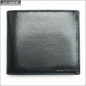 ポールスミス Paul Smith 1033 W551 2つ折り財布 BLACK *|at-shop