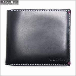 ポールスミス Paul Smith 1033 W638 2つ折り財布 BLACK *|at-shop