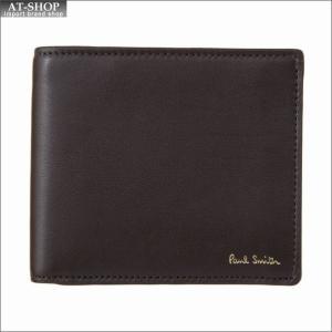 ポール・スミス PaulSmith 二つ折り財布 ATXC 5039 W809 CHOC|at-shop