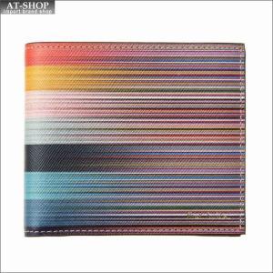 ポール・スミス PaulSmith 二つ折り財布 M1A 4833 A40025 96 MultiToArtist|at-shop
