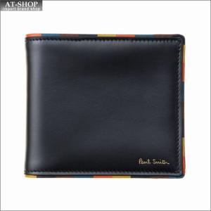 ポール・スミス PaulSmith 二つ折り財布 M1A 4833 AEDGE 79 Black|at-shop
