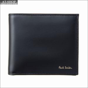 ポール・スミス PaulSmith 二つ折り財布 M1A 4833 AMULTI 79 Black|at-shop