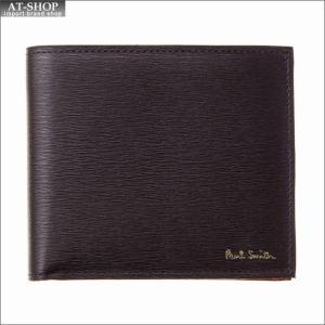 ポール・スミス PaulSmith 二つ折り財布 M1A 4833 ASTRGR 28 Bordeaux|at-shop