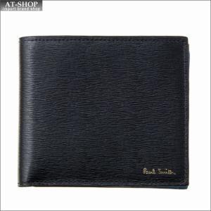 ポール・スミス PaulSmith 二つ折り財布 M1A 4833 ASTRGR 79 Black|at-shop