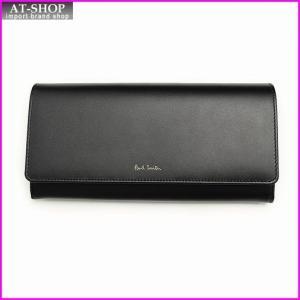 ポールスミス PaulSmith WPXA 4608 W744A BLACK 長財布 *|at-shop
