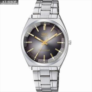 CITIZEN シチズン 腕時計 Q&Q カットガラス クラシック メンズ時計 QB78-202 ブラック/シルバー|at-shop