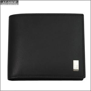 DUNHILL ダンヒル 財布サイフ SIDECAR 二つ折り財布 QD3070A ブラック|at-shop
