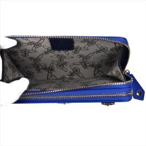 Vivienne Westwood ヴィヴィアン・ウェストウッド 財布サイフ NO,10 SAFFIANO 財布ポシェット ショルダーウォレット  51050026 BLUE 18SS ブルー|at-shop|04
