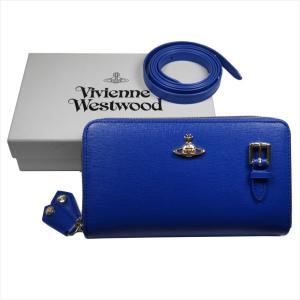 Vivienne Westwood ヴィヴィアン・ウェストウッド 財布サイフ NO,10 SAFFIANO 財布ポシェット ショルダーウォレット  51050026 BLUE 18SS ブルー|at-shop|06