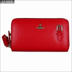 Vivienne Westwood ヴィヴィアン・ウェストウッド 財布サイフ NO,10 SAFFIANO 財布ポシェット ショルダーウォレット  51050026 RED 18SS レッド|at-shop