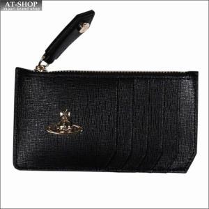 Vivienne Westwood ヴィヴィアン・ウェストウッド 財布サイフ NO,10 SAFFIANO 小銭入れ財布 51060015 BLACK 18SS ブラック|at-shop