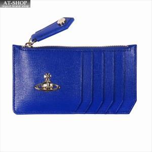 Vivienne Westwood ヴィヴィアン・ウェストウッド 財布サイフ NO,10 SAFFIANO 小銭入れ財布 51060015 BLUE 18SS ブルー|at-shop