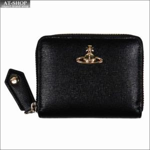 Vivienne Westwood ヴィヴィアン・ウェストウッド 財布サイフ NO,10 SAFFIANO 小銭入れ ラウンドファスナー財布 51080001 BLACK 18SS ブラック|at-shop