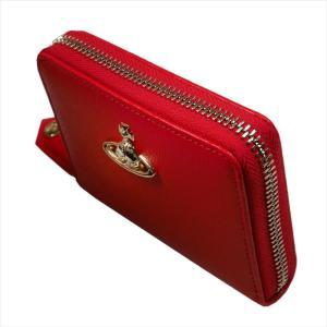 Vivienne Westwood ヴィヴィアン・ウェストウッド 財布サイフ NO,10 SAFFIANO 小銭入れ ラウンドファスナー財布 51080001 RED 18SS レッド|at-shop|05