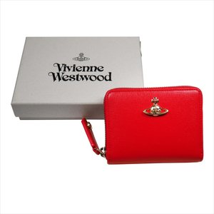 Vivienne Westwood ヴィヴィアン・ウェストウッド 財布サイフ NO,10 SAFFIANO 小銭入れ ラウンドファスナー財布 51080001 RED 18SS レッド|at-shop|06