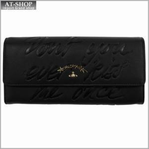 Vivienne Westwood ヴィヴィアン・ウェストウッド 財布サイフ NO,8 SALCOMBE 二つ折り長財布 39.0021 BLACK 17SS ブラック|at-shop