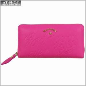 Vivienne Westwood ヴィヴィアン・ウェストウッド 財布サイフ NO,8 SALCOMBE ラウンドファスナー長財布 39.0022 PINK 17SS ピンク|at-shop