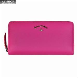 Vivienne Westwood ヴィヴィアン・ウェストウッド 財布サイフ NO,10 SONIA ラウンドファスナー長財布 51050024 PINK 18SS ピンク|at-shop