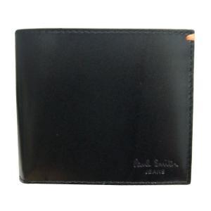 ポール・スミス Paul Smith 財布サイフ 二つ折り財布 AHXJ2662W510B|at-shop