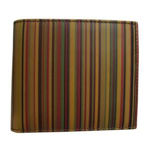 ポール・スミス Paul Smith 財布サイフ 二つ折り財布(小銭入れ付き) AHXA 1033 W217 1|at-shop