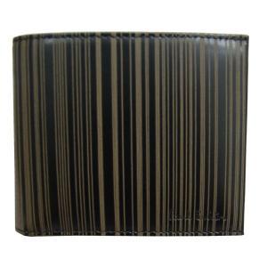 ポール・スミス Paul Smith 財布サイフ 二つ折り財布 AHXA 1032 W502 B ブラック|at-shop