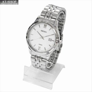 SEIKO セイコー 腕時計 クォーツ SUR217P ホワイト×シルバー|at-shop