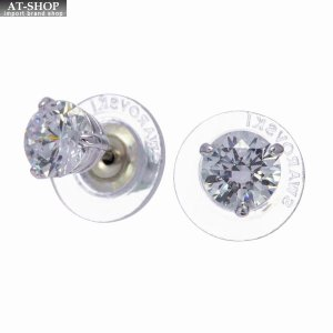 SWAROVSKI スワロフスキー ピアス イアリングSolitaire Pierced Earrings|at-shop