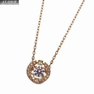 SWAROVSKI スワロフスキー ネックレス ペンダント Sparkling Dance Round Necklace 5272364|at-shop