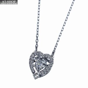 SWAROVSKI スワロフスキー ネックレス ペンダント Sparkling Dance Heart Necklace 5272365|at-shop
