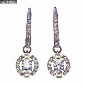 SWAROVSKI スワロフスキー ピアス イアリング Sparkling Dance Round Pierced Earrings 5272366|at-shop