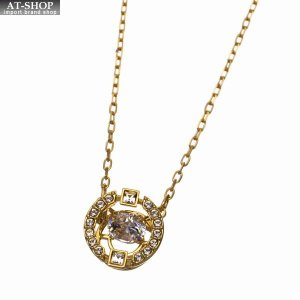SWAROVSKI スワロフスキー ネックレス ペンダント Sparkling Dance Round Necklace 5284186|at-shop